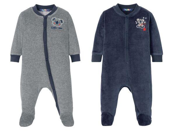 LUPILU® Baby Schlafoverall Jungen, mit Druckknöpfen