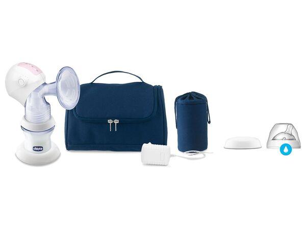 Chicco tragbare elektrische Milchpumpe, Sauggeschwindigkeit & Saugstärke sind einstellbar