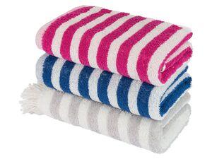 LUPILU® Kinder Handtuch, 50 x 100 cm, mit niedlichen Applikationen, aus reiner Baumwolle