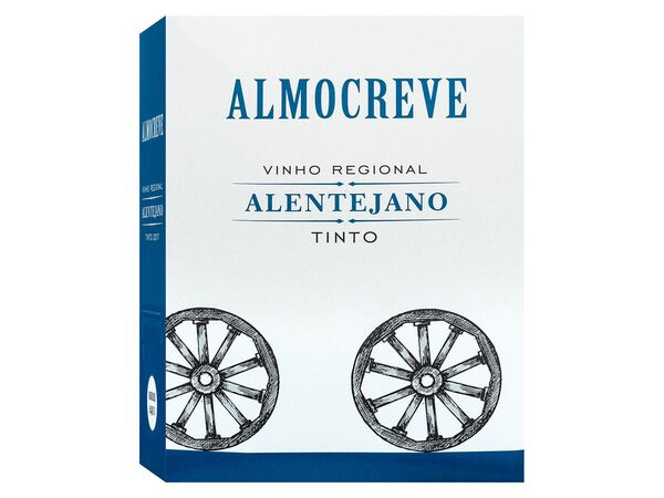 Almocreve Alentejano Vinho Regional Bag-in-Box, Rotwein 2019