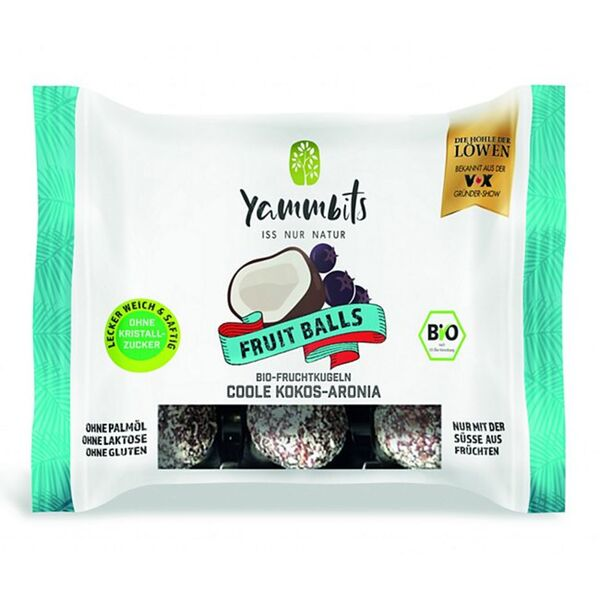 Yammbits Fruchtkugeln versch. Sorten 70g