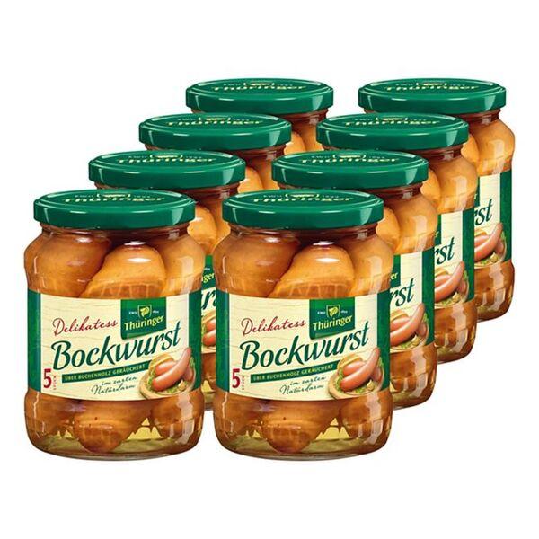 EWU Delikatess Bockwurst 400 g, 8er Pack