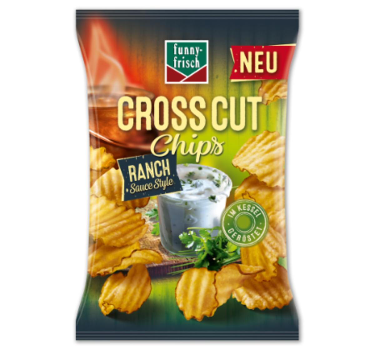 Bild 1 von FUNNY-FRISCH Cross Cut Chips