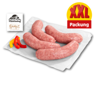 MÜHLENHOF Frische Schweine-Bratwurst