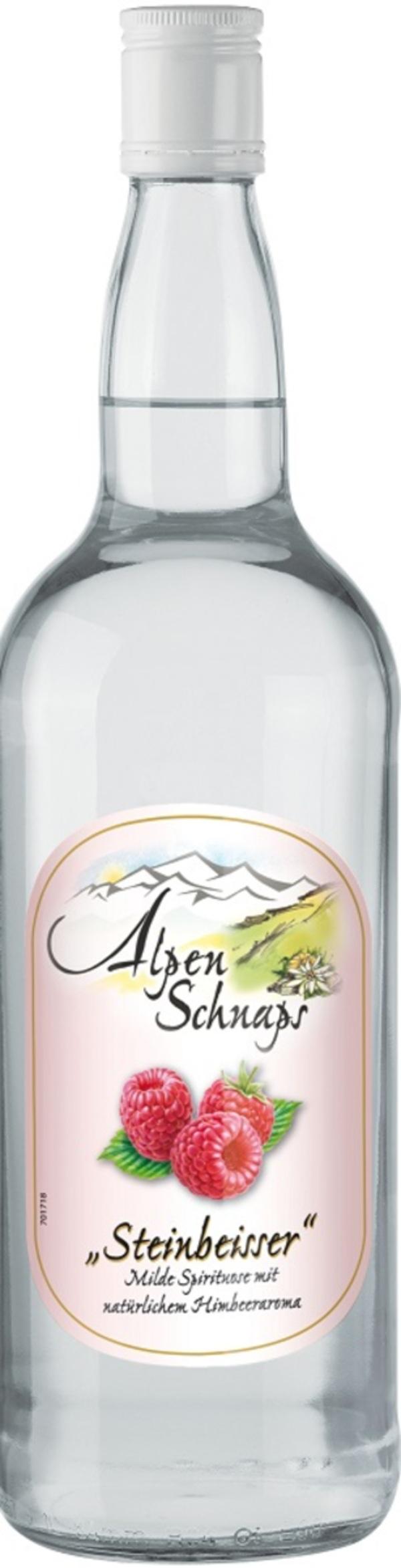 Alpenschnaps Himbeer 35% 1l