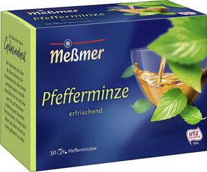 Meßmer Tee Pfefferminze groß 50x 2,25 g