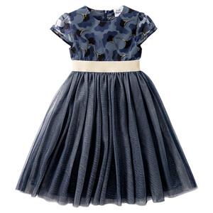 Festliches Mädchen Kleid mit Tüll