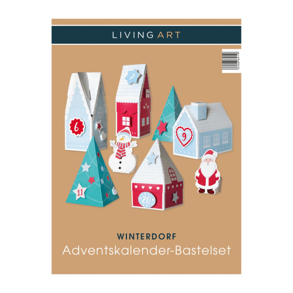 Bild 3 von LIVING ART     Adventskalender-Bastelset