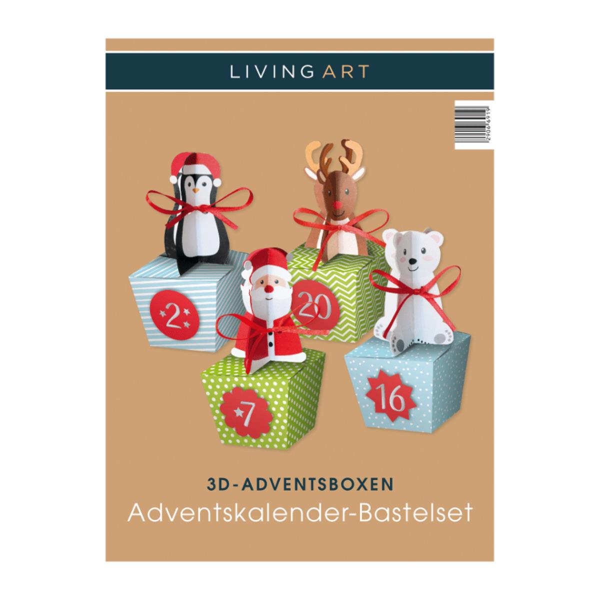 Bild 5 von LIVING ART     Adventskalender-Bastelset