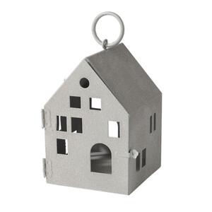 Kleines Windlicht als Haus