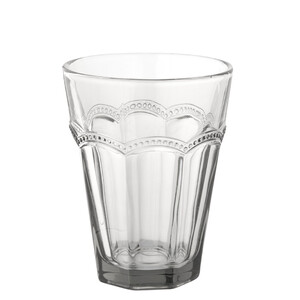 Trinkglas mit Muster
