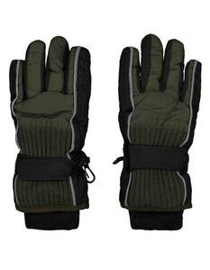 Jungen Ski-Handschuhe mit Wattierung