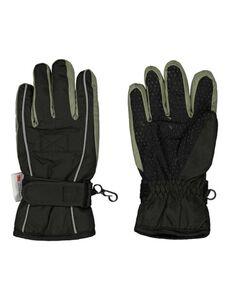 Jungen Ski-Handschuhe Wattiert