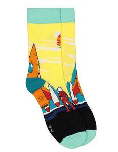 Socken mit Raketen-Muster