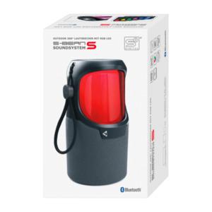 Outdoor-360°-Lautsprecher mit RGB-LED