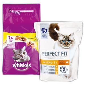 Whiskas Perfect Fit Katzen-Trockenfutter