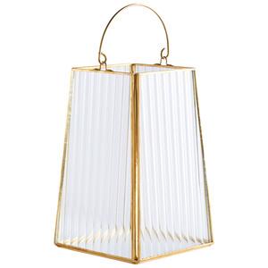 Laterne TOMMY (Höhe 21 cm, gold)