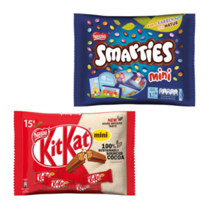 Smarties mini / KitKat mini / Lion mini