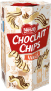 Nestlé Choclait Chips oder Choco Crossies