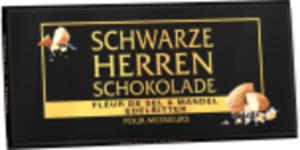 Stollwerck Schwarze Herrenschokolade Edelbitter