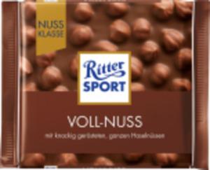 RitterSport* Nuss- oder Kakaoklasse