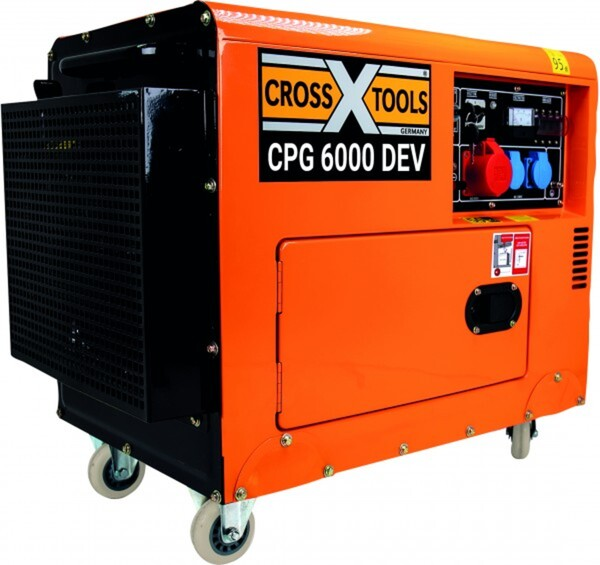 Cross Tools Diesel-Stromerzeuger CPG 6000 DE