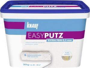 Knauf Easyputz 20 kg, 0,5 mm Körnung, schneeweiß