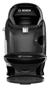 Bosch Tassimo Kaffeeautomat TAS 1102 ,  0,7 Liter Wassertank, 1400 W, real black