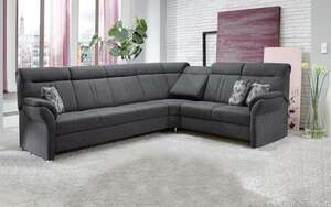 MCA furniture - Wohnlandschaft PP-HS06003 in anthrazit, ohne Funktion