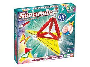 Supermag Magnetspiel »Tags Primary 35«, mit Magnetstäben, ab 3 Jahren