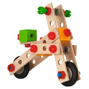 Eichhorn Constructor Holz-Spielzeug 2-in-1/4-in-1