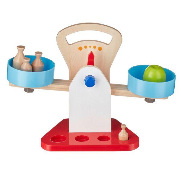 PLAYLAND Holz-Spielzeug-Waage oder -Kasse
