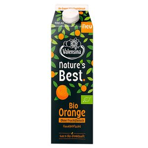 Valensina®  Nature's Best Bio-Orangensaft 900 ml