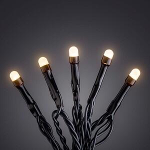 Konstsmide Micro Lichterkette 80 LED, bernstein, gefrostet