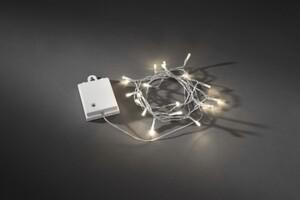 Konstsmide LED Lichterkette für Außen 40 LED, warmweiß