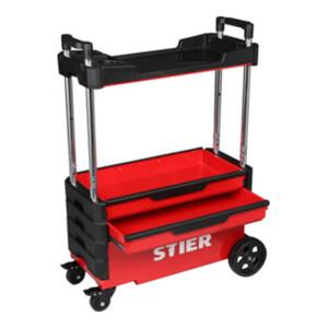 STIER Montagewagen klappbar 80kg Tragkraft LxBxH 700x380x535/900mm