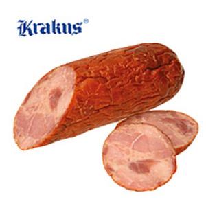 """Schinkenkrakauer """"Krakowska sucha"""". Wurst aus Schweinefleisc..."""