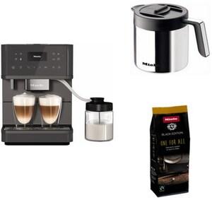 CM 6560 MilkPerfection Kaffee-Vollautomat graphitgrau/pearlFinish