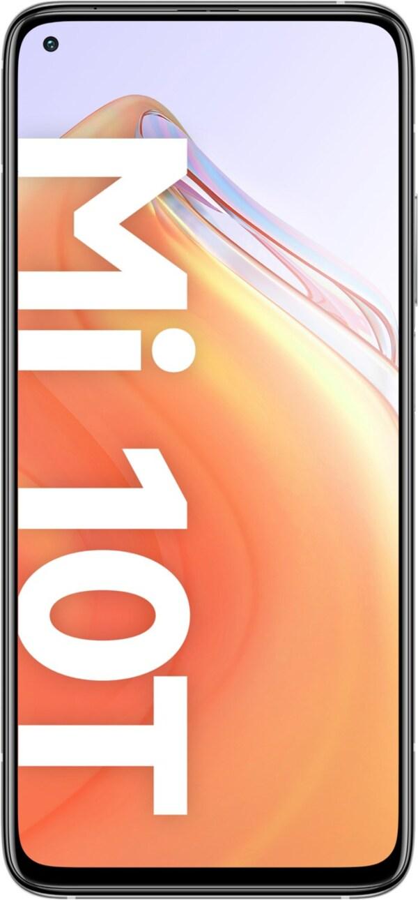 Mi 10T (6GB+128GB) Smartphone lunar silver