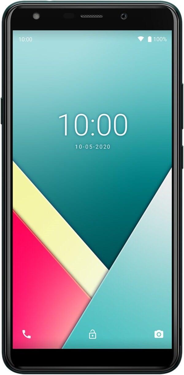 Y61 Smartphone deep green inkl. Soft Case und Schutzfolie