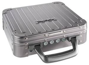 Aluminium-Sicherheits-Safe mit Digitalschloß und Sicherheitsdrahtseil Westfalia