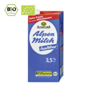 Alnatura Haltbare Alpen Milch