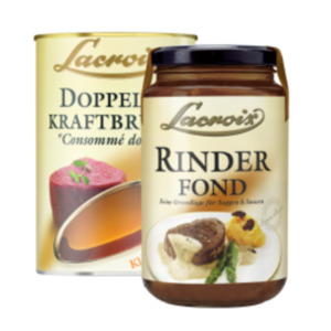 Lacroix Fonds oder Suppen