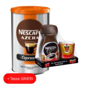 Nescafé Classic, Espresso oder Azera Espresso