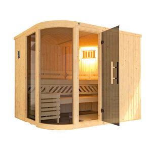 "Weka              Design-Sauna ""Sara 2"", 9,0 kW"