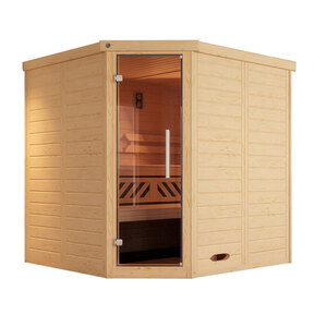 "Weka              Design-Sauna ""Kemi Eck 1"", GT"