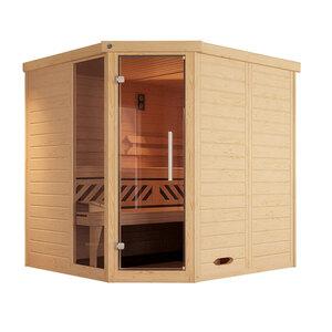 "Weka              Design-Sauna ""Kemi Eck 1"", GTF"