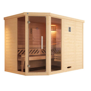 "Weka              Design-Sauna ""Kemi Eck 2"", GTF"