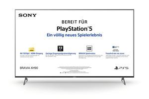 SONY KD-75XH9005,  LED TV, Schwarz