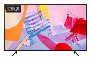SAMSUNG GQ55Q60T,  QLED TV, Nachtschwarz